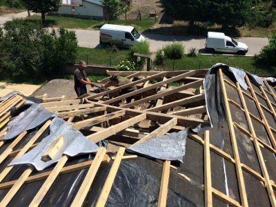 Изграждане на нов покрив - Изображение 1