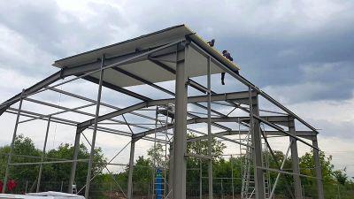 Изграждане на метални халета и конструкции - Изображение 1